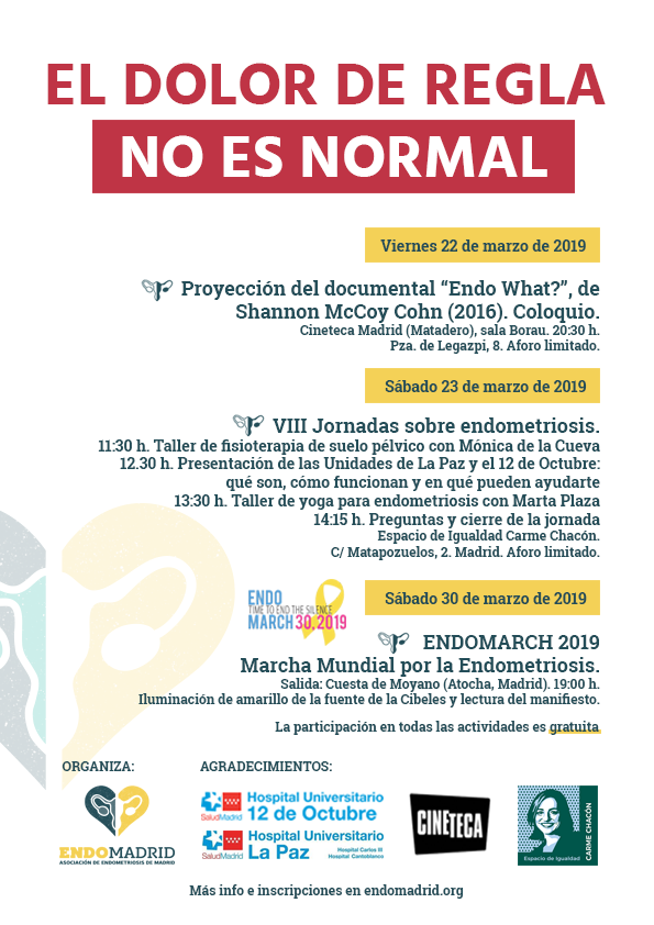 programa endomarch 2019 madrid endomadrid marzo